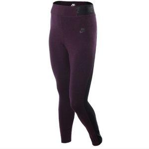 Nike heathered T2 Leggings